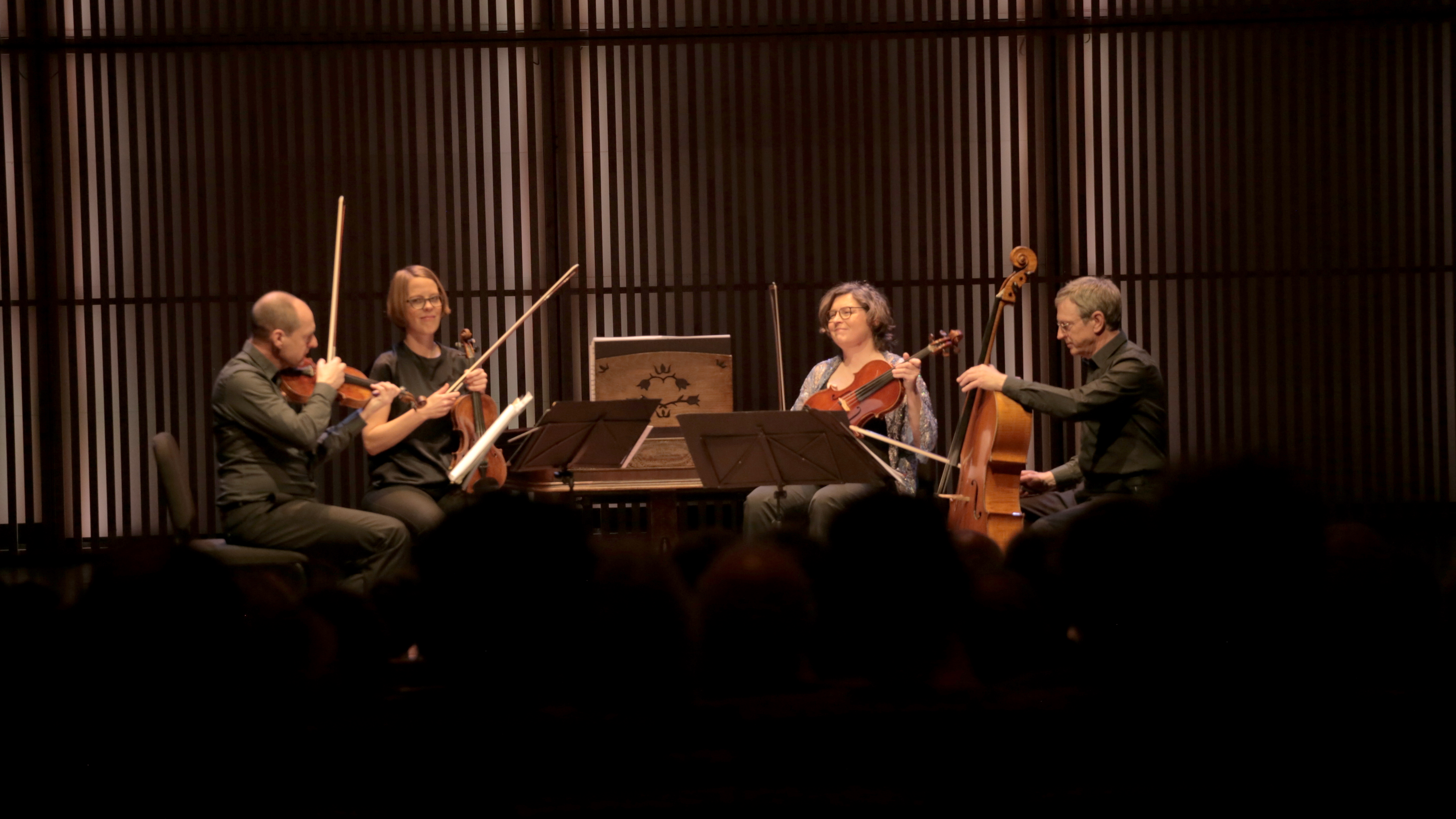 Embassy Of Hungary Attends Hungarian Concert During String Quartet